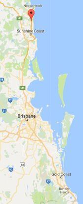 Coolum Beach Map 2