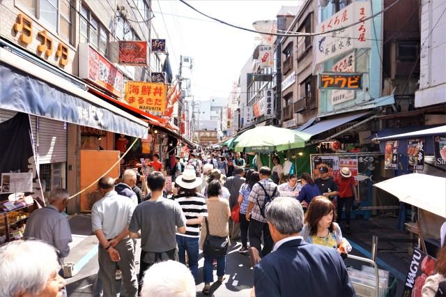 Pic 2018-0607 10 Tsukiji Market (2) Edit