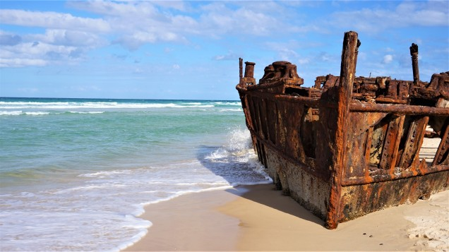 Pic 2018-0722 07 Fraser Island Maheno Shipwreck (23) edit